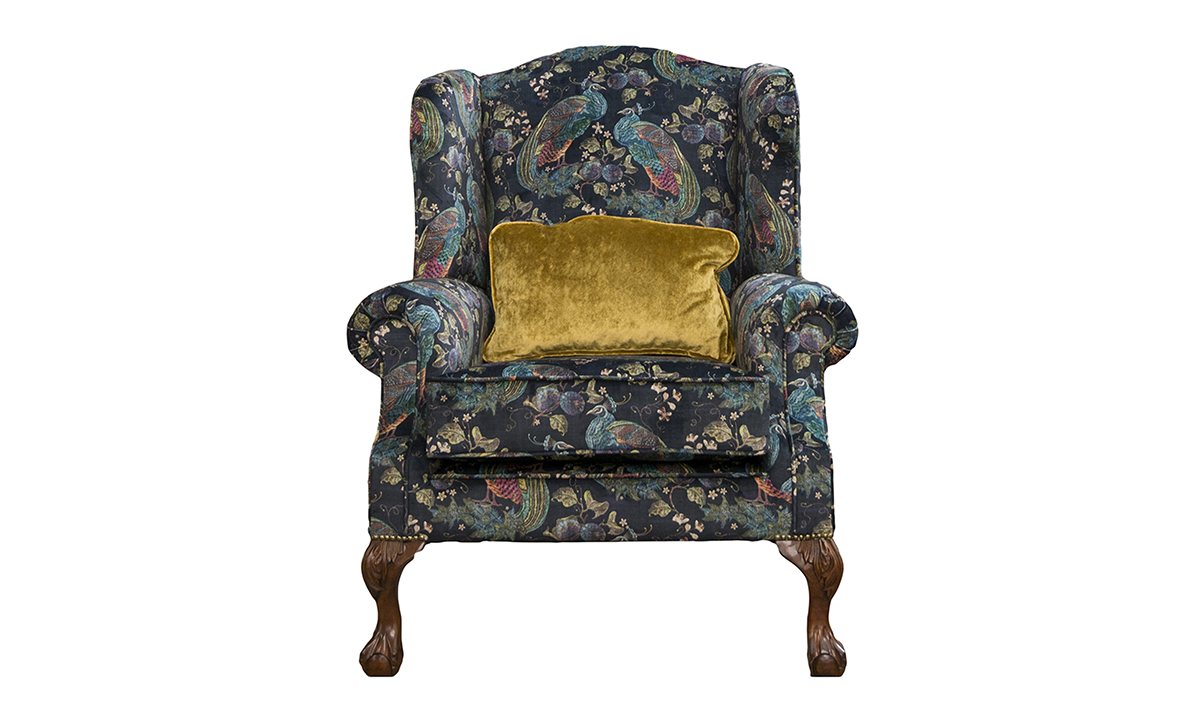King-Chair-in-Peacock-Navy-Platinum-Collection-of-Fabrics