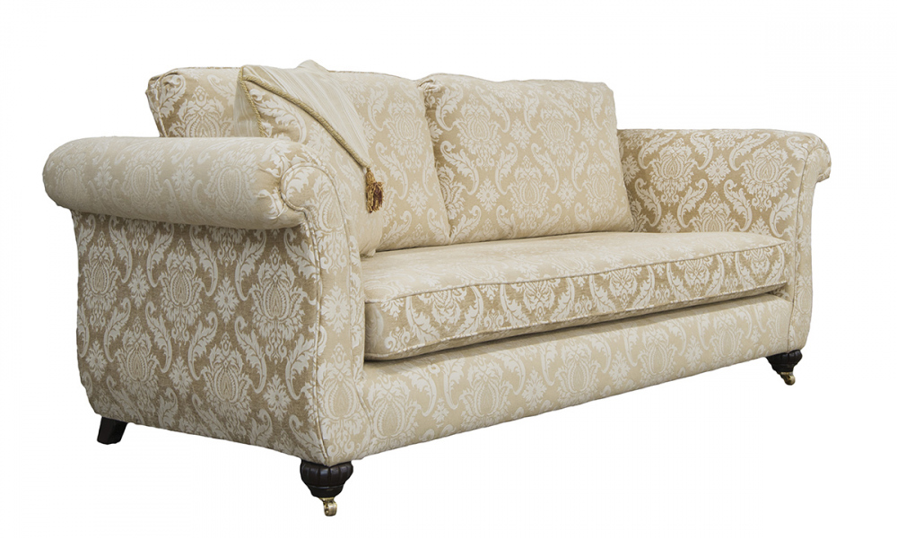 Lafayette Large Sofa in Tolstoy Straw, Platinum Collection Fabric