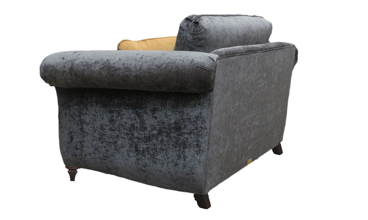 Lafayette Love Seat in a Gold Collection Fabric