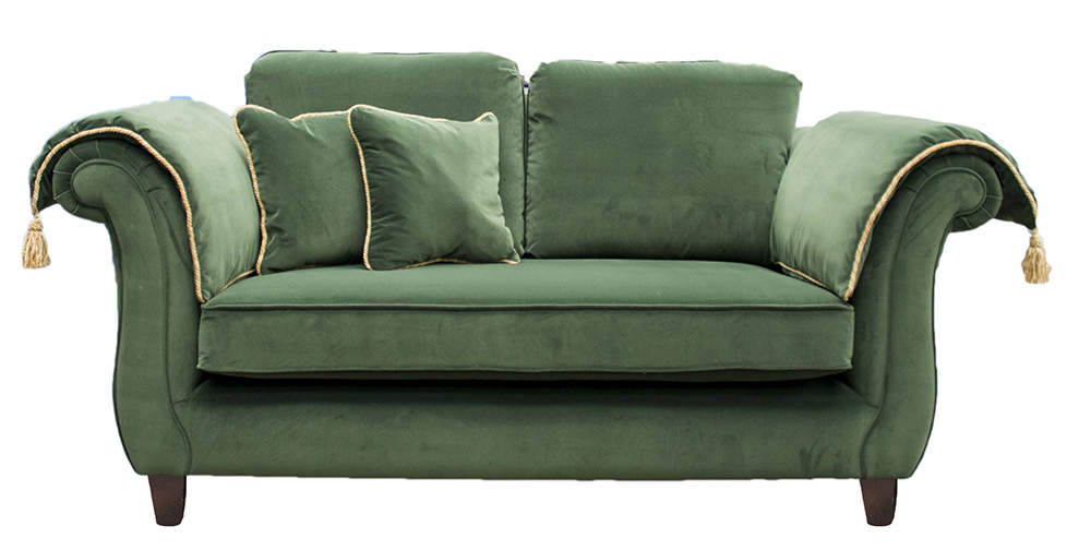 Lafayette Small Sofa in Monza 14860 Fore Platinum Collection Fabric