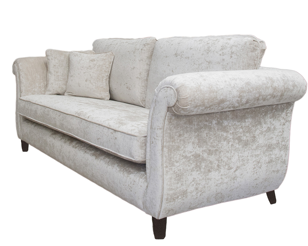 Lafayette Large Sofa in Modena 13918 Platinum Collection Fabric