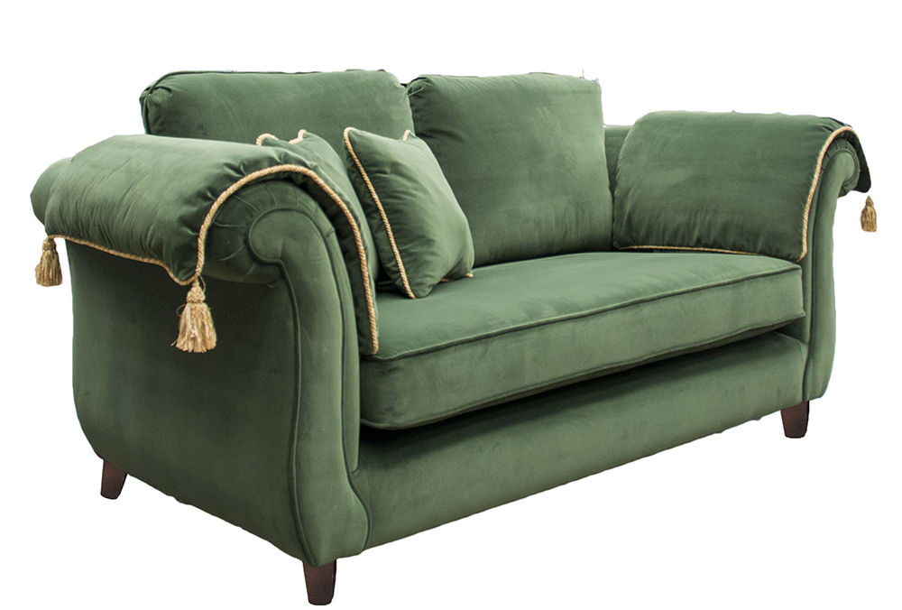 Lafayette Large Sofa in Monza 14860 Fore Platinum Collection Fabric