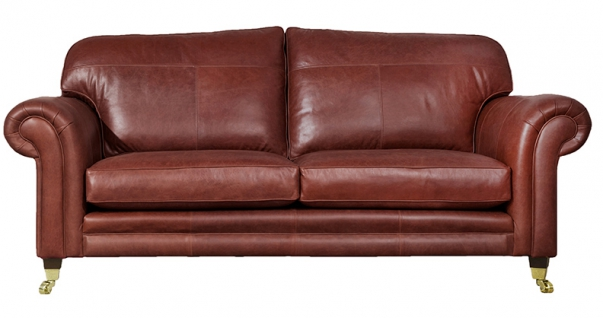 Louis Leather Mustang Claret