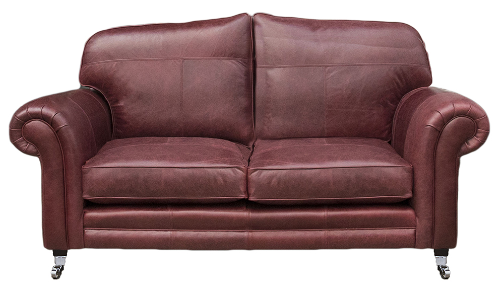Leather Louis 2 seater - Mustang Oxblood