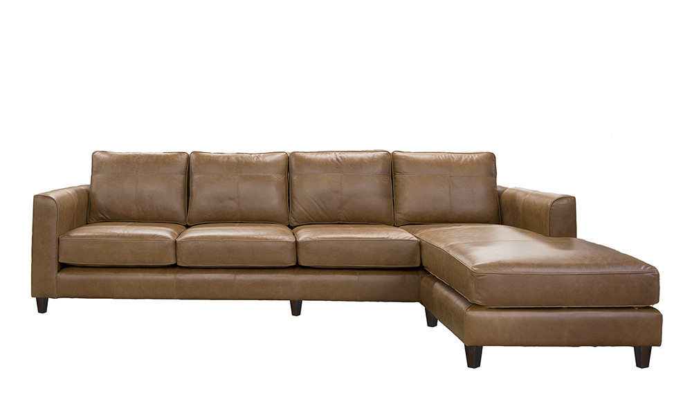 Leather Nolan Chaise End - Leather Sofas and Chairs Range ...