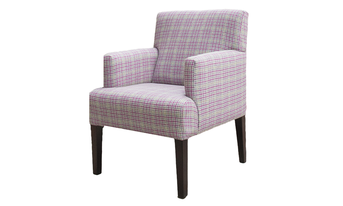 Lisa Chair in Art of Loom Likey Heather