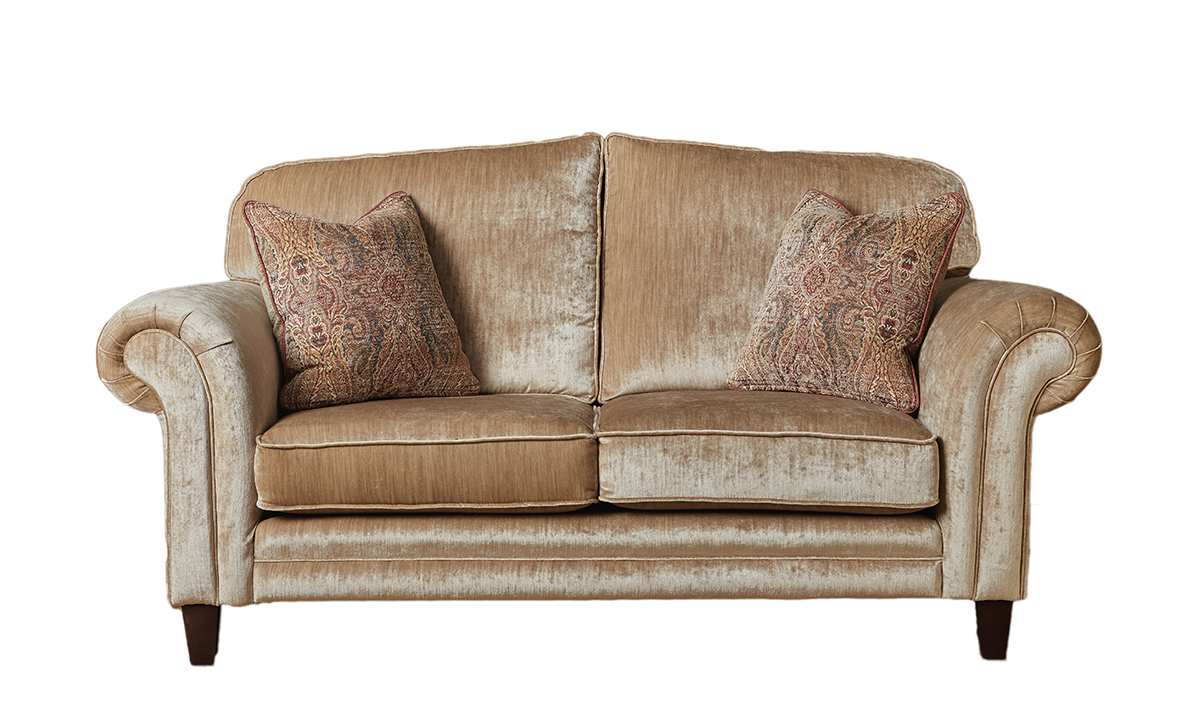 Louis 2 Seater Sofa in Mancini Cappuccino
