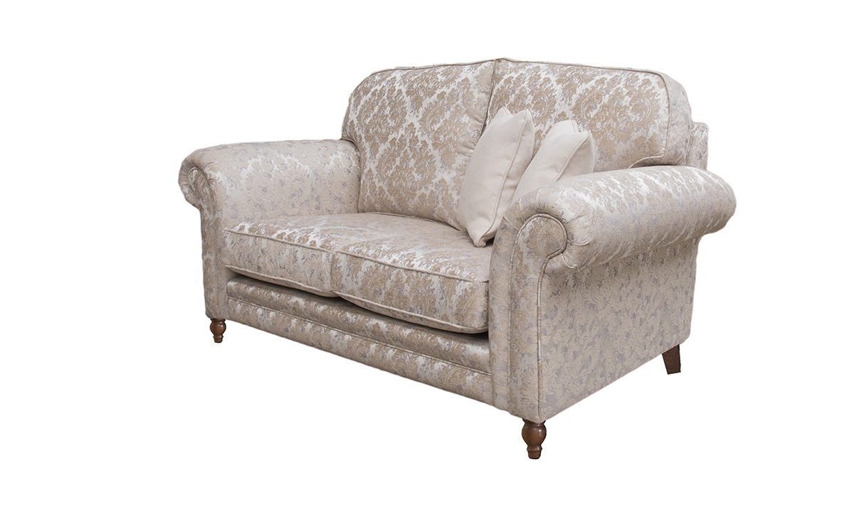Louis 2 Seater Sofa in Dior Pattern Storm