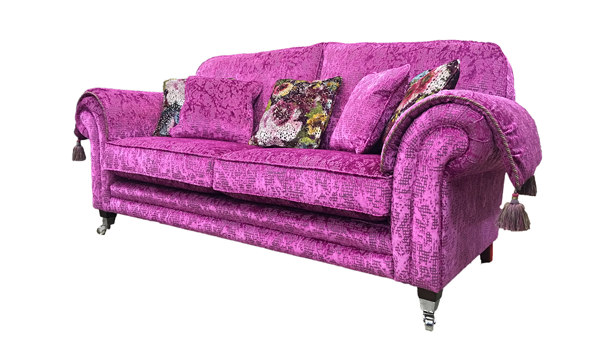 Louis 3 Seater Sofa in Customers Own Fabric