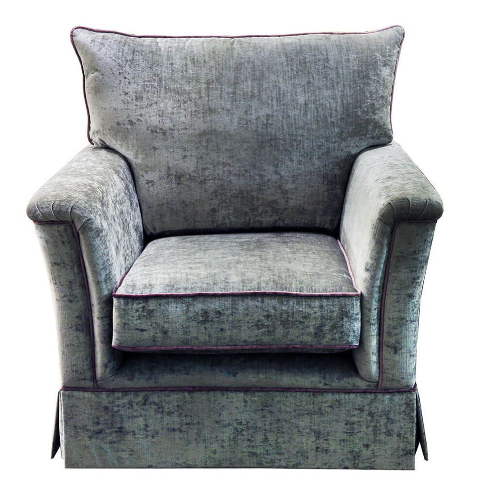 Madison Chair - Contrast-Piping