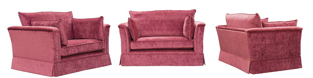 Madison Love Seat – Gold Collection
