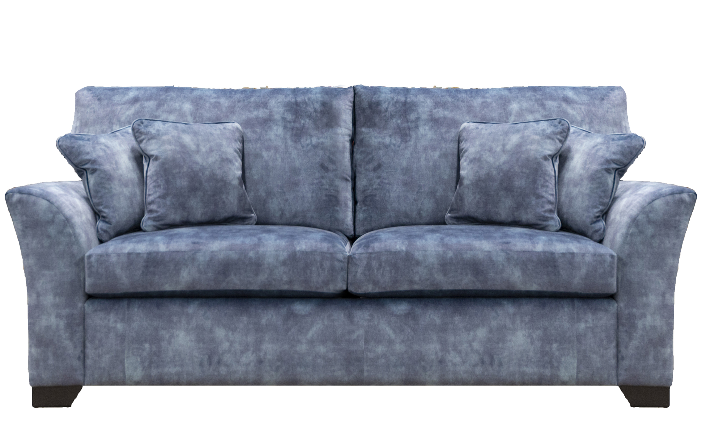 Malton 3 Seater Sofa Side in Lovely Atlantic, Gold Collection Fabric