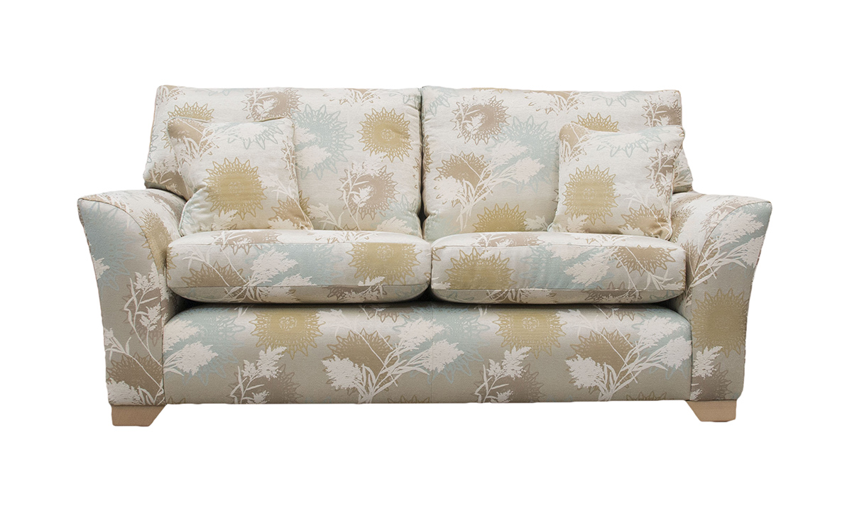 Malton Large Sofa in Plapaa Planet Pattern Aquam