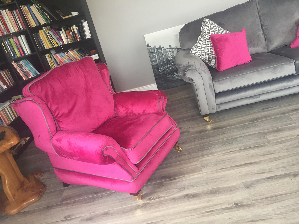 Alexandra Chair & Louis Sofa