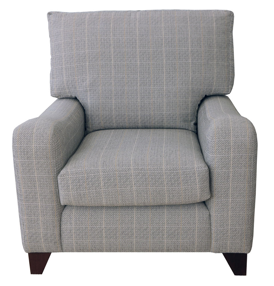 Melrose Chair  in a discontinued fabric