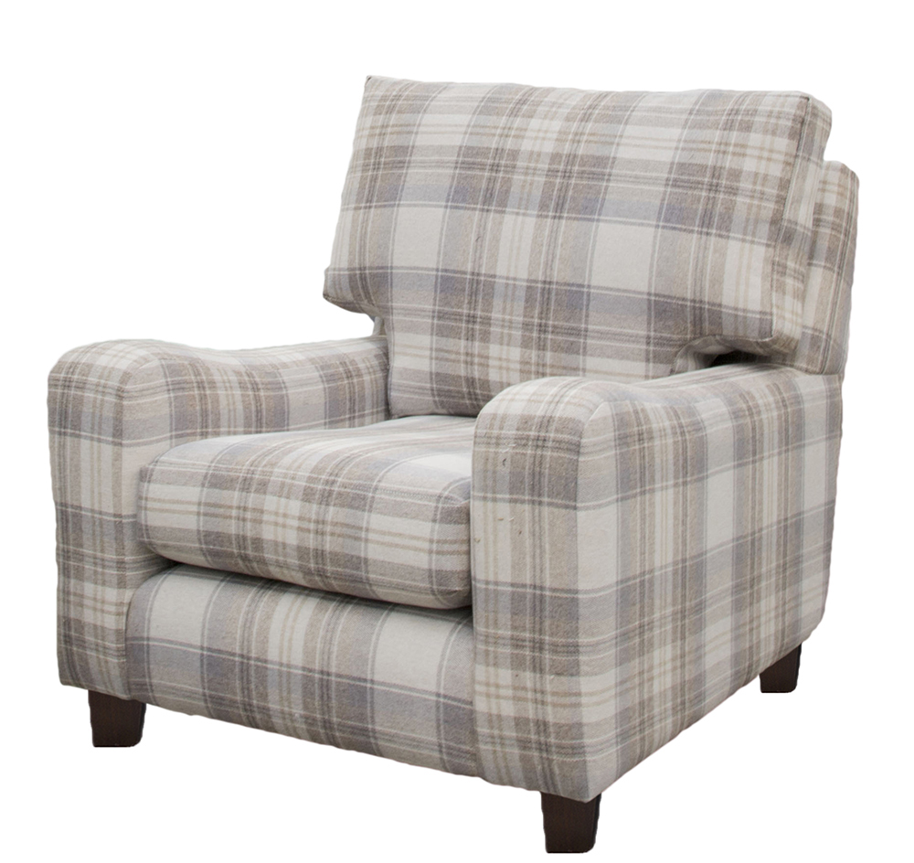 Melrose chair in Aviemore Plaid