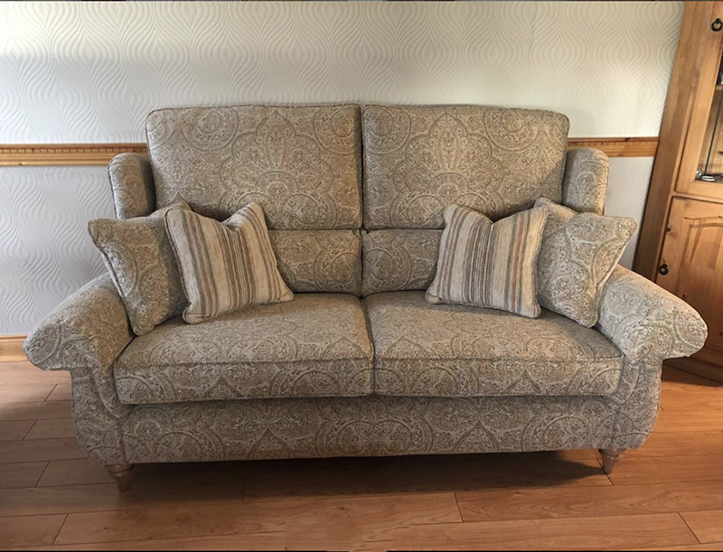 Greville Sofa, Chair & Footstool