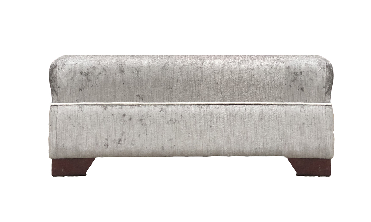 Monroe Footstool in Edinburgh French Grey