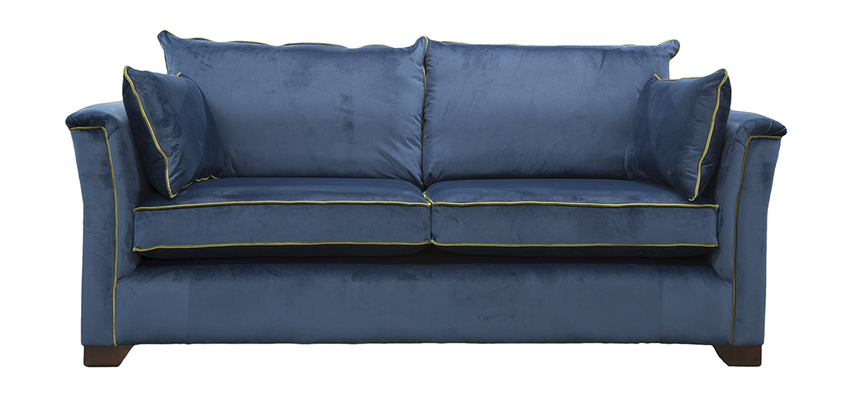 Monroe Large Sofa in Luxor Pacific Silver Collection