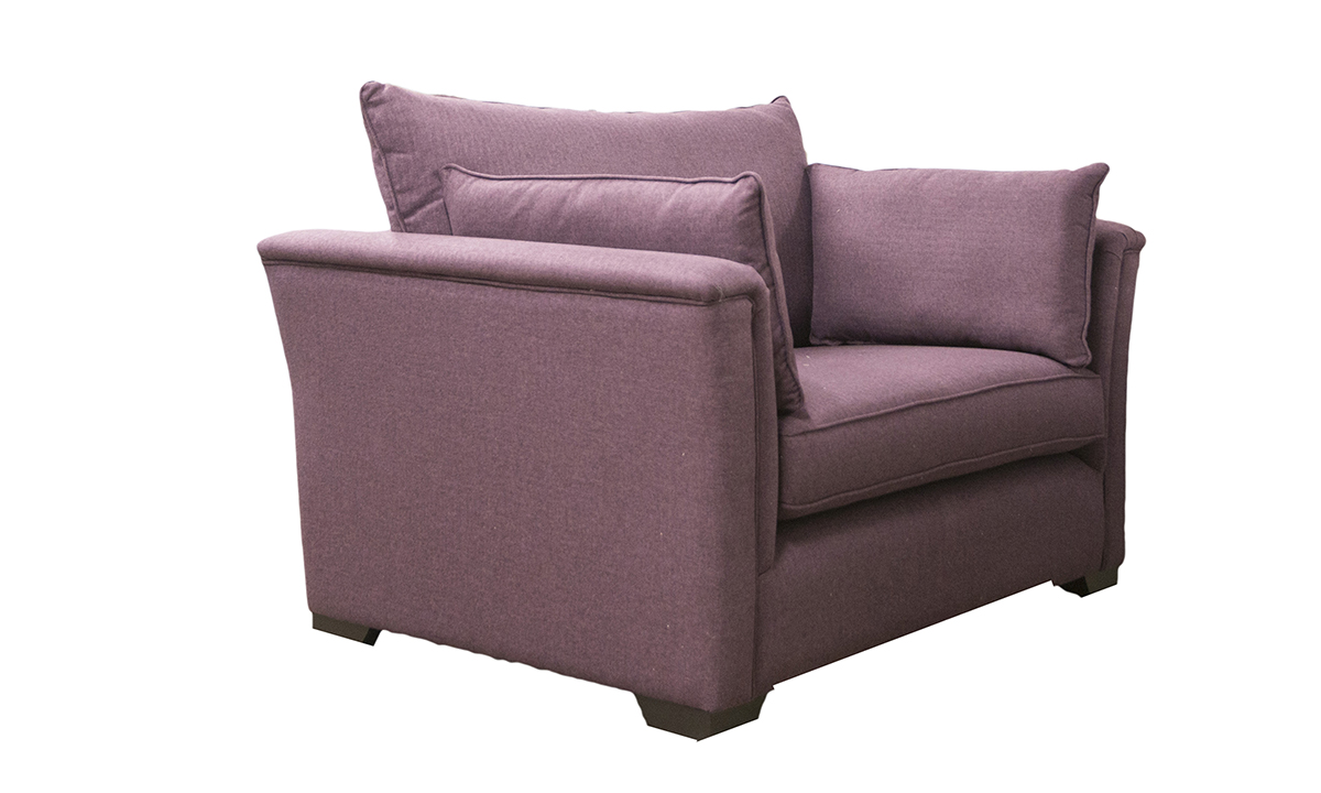 Monroe-Love-Seat-side-in-McKenzie-Col-16-Aubergine-Silver-Collection-of-Fabrics