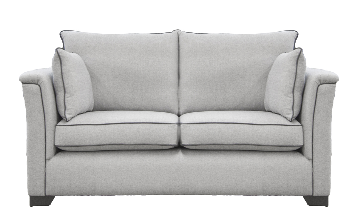 Monroe Small Sofa, in Foxford Fabric, Platinum Collection Fabric