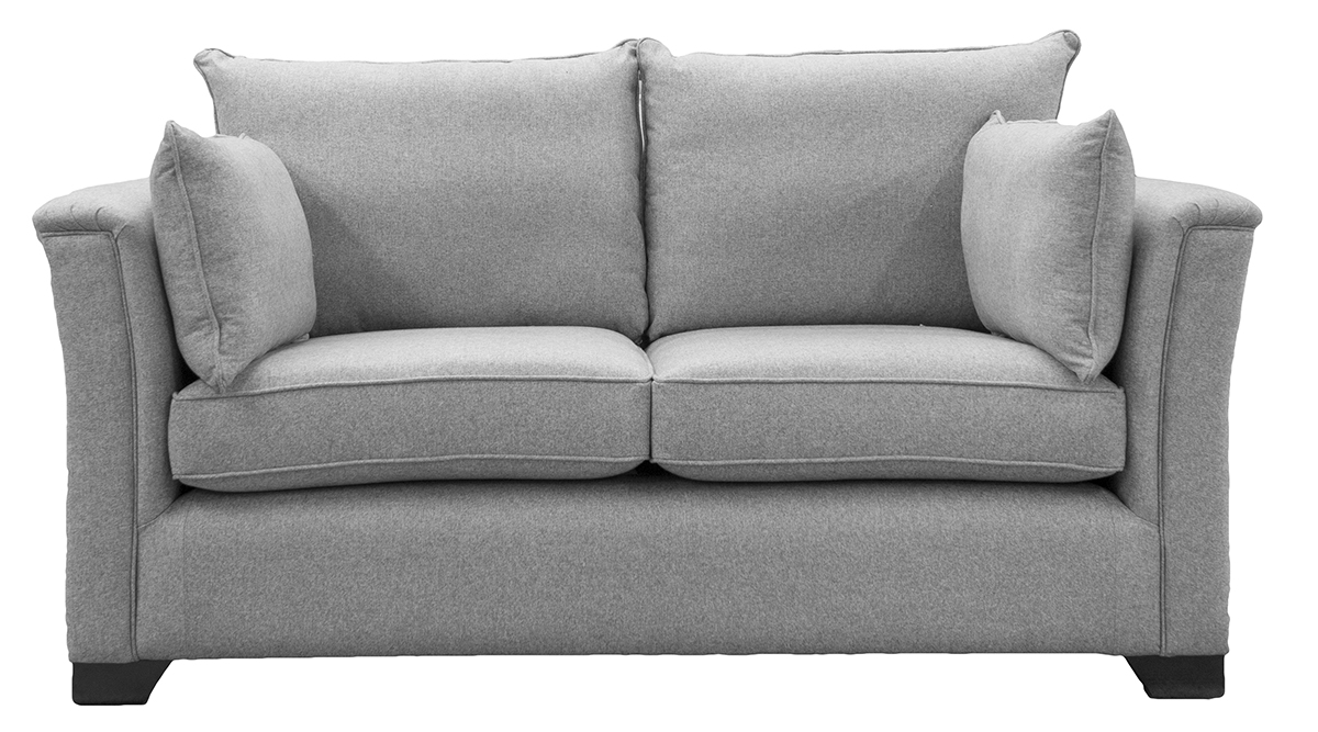 Monroe Small Sofa in Tweed Gallant Silver Collection