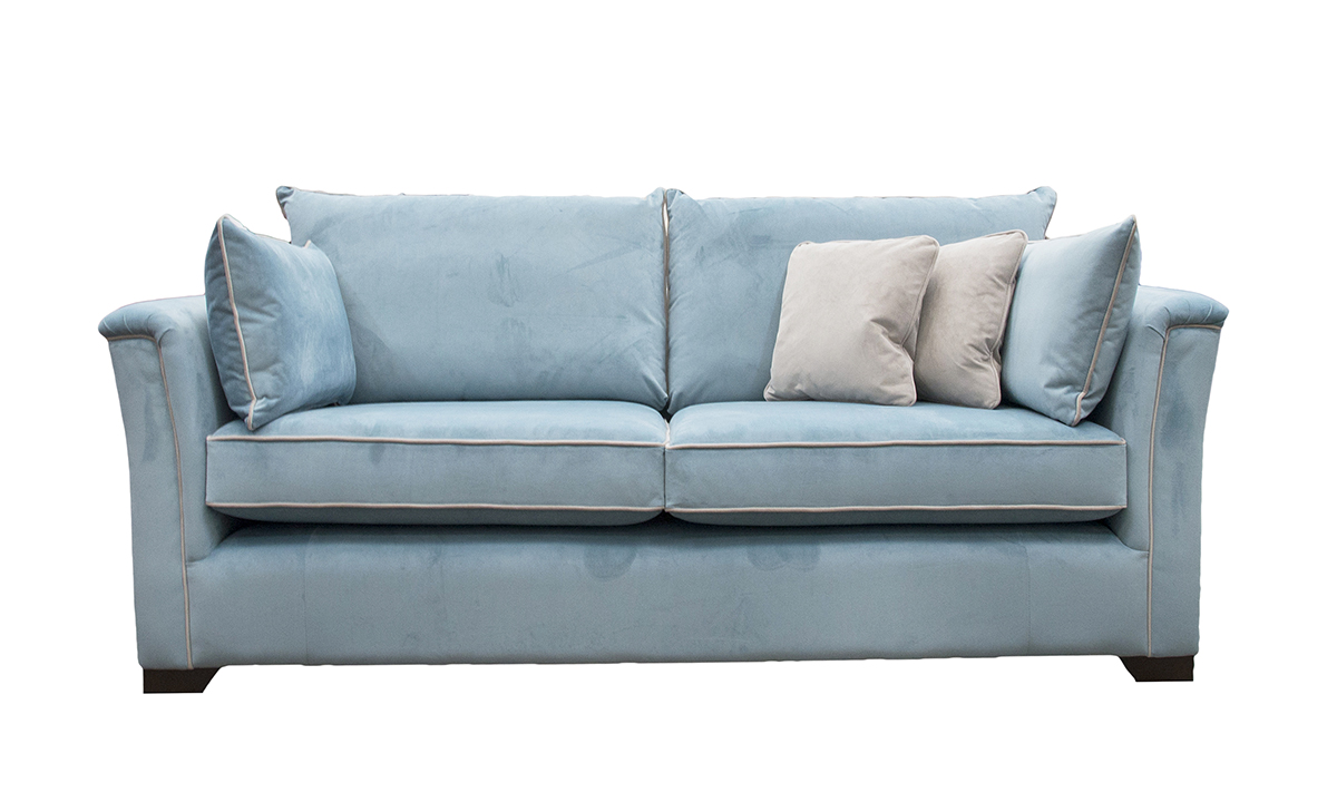 Monroe Sofa in Warwick Plush Airforce, Platinum Collection Fabric