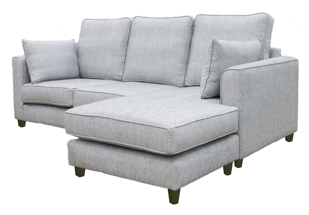 Nolan Chaise End - Silver Collection side