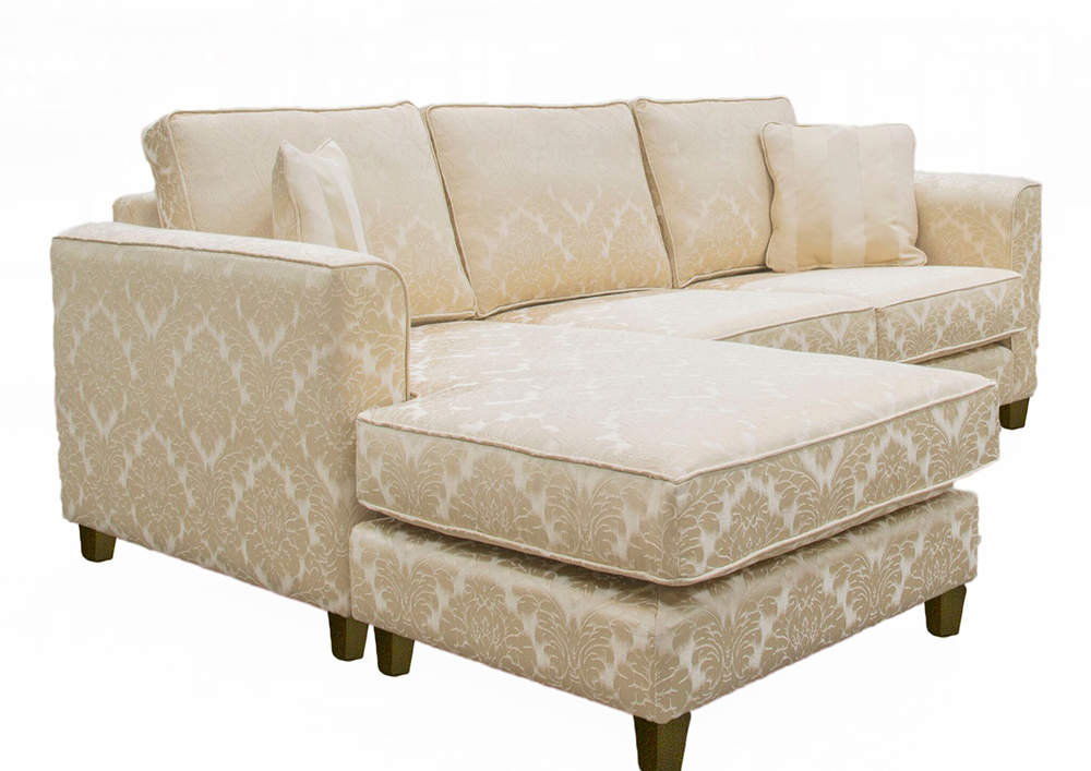 Nolan Chaise End Waterloo Pattern Gold – Gold Collection side_preview