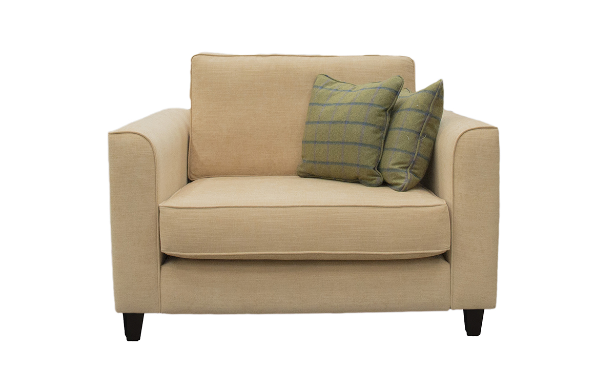Nolan Love Seat in JBrown Senna col24,