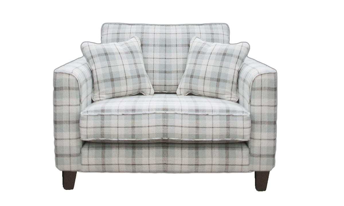 Nolan Love Seat in Customers Own Fabric