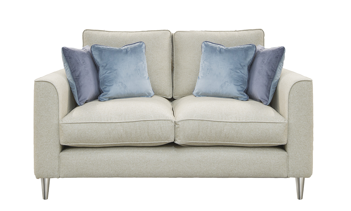 Nolan 2 Seater Sofa with Fibre Filled Seat Cushions (bespoke option)