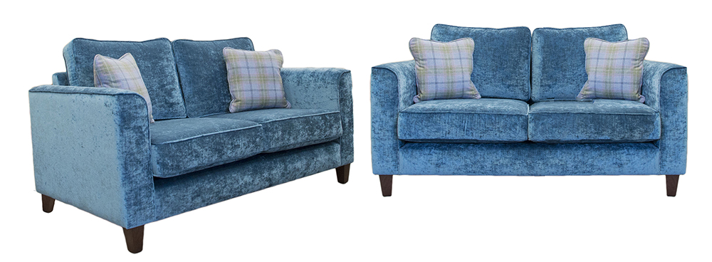 Nolan 2 Seater in silver collection