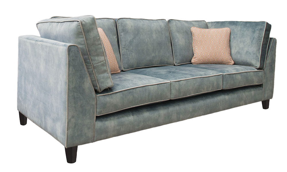 Nolan Bespoke Sofa Side - Logan Corner Arms, 3 Back Cushions, 3 Seat Cushions, 2 Side back Cushions