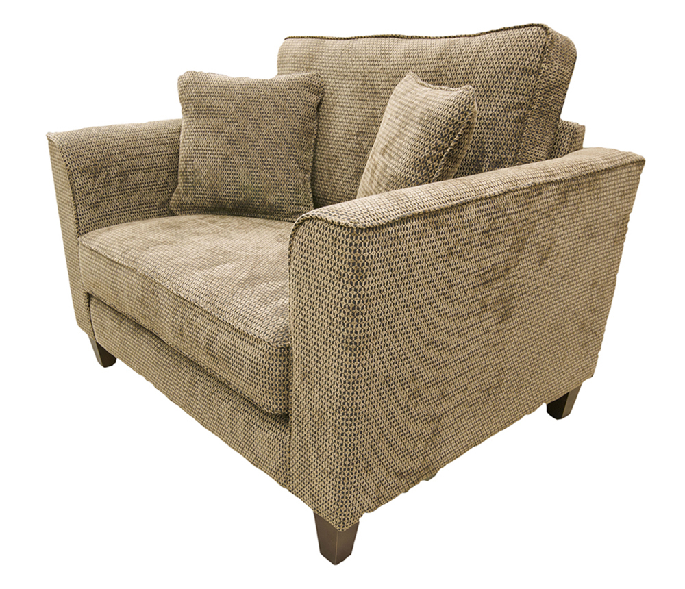 Nolan Love Seat Sofa - Bronze Collection