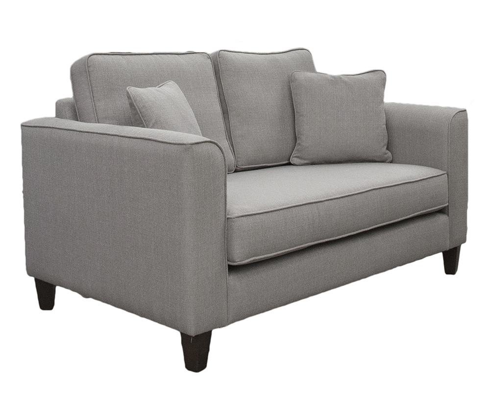 Nolan Small Sofa Side - Bench Seat - Aosta Silver