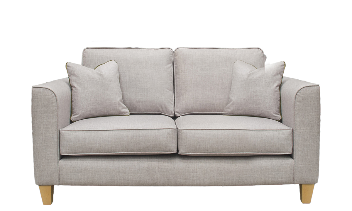 Nolan Small Sofa in Havana Sage, Silver Collection Fabric