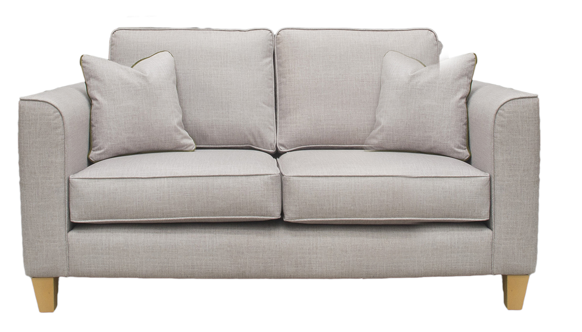 Nolan Small Sofa in Havana Sage Silver Collection Fabric
