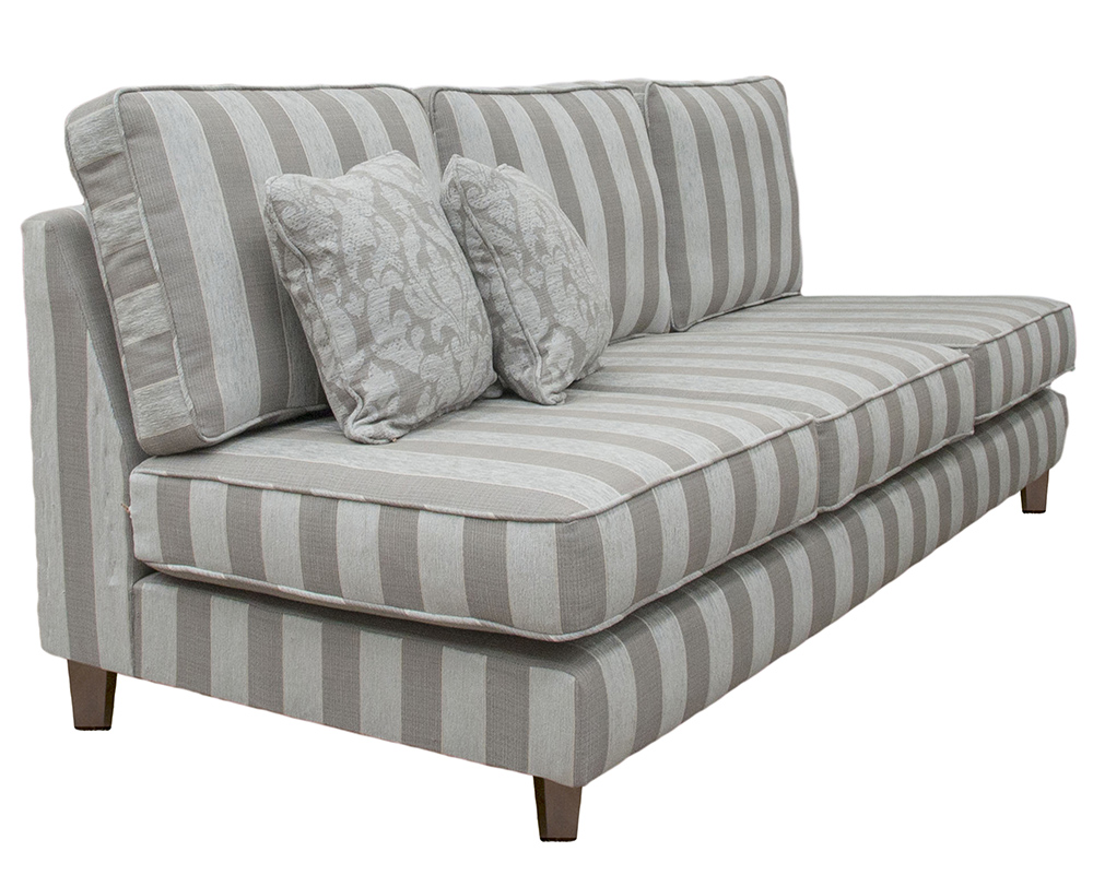 Nolan Sofa Side (Bespoke - Arms Made Detachable) - 18004