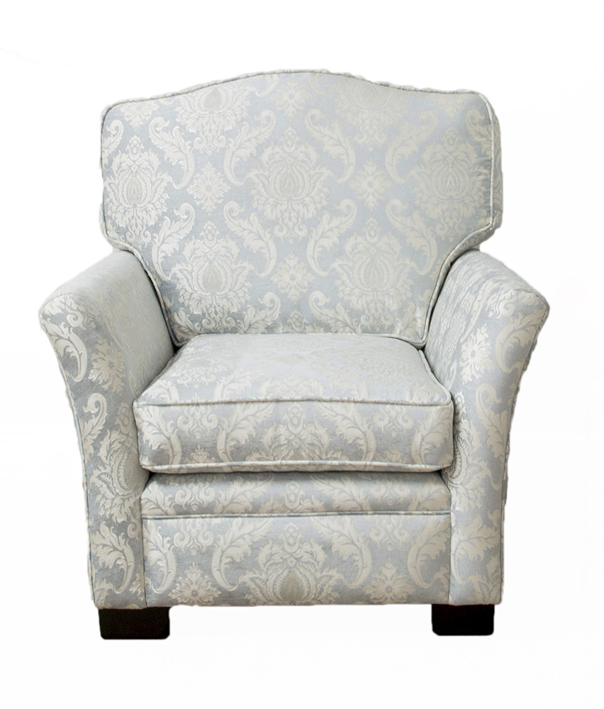 Othello Chair - Tolstoy Pattern - Platinum Collection