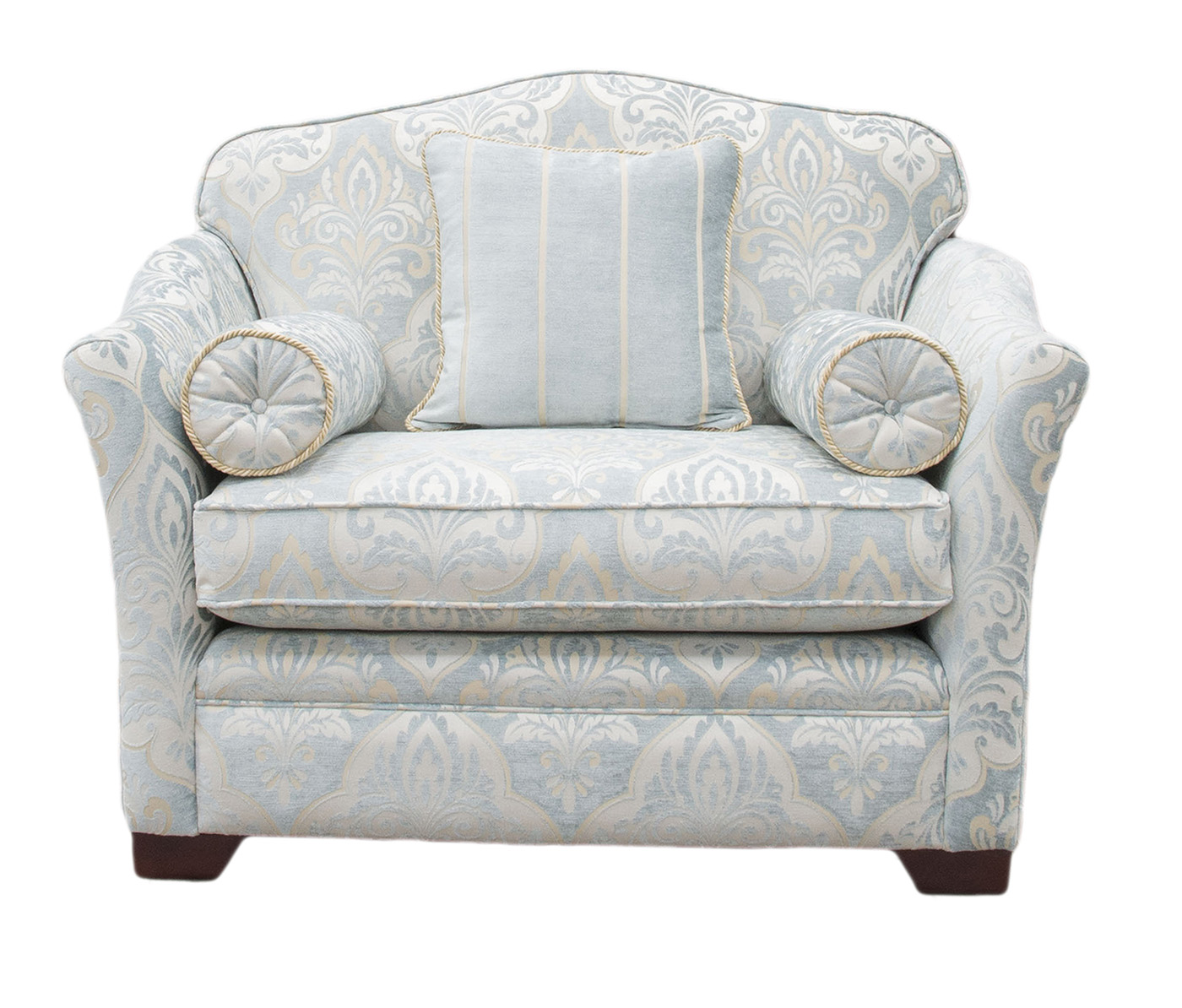 Othello Sofa Bed 3ft in Tolstoy Pattern Platinum Collection Fabric