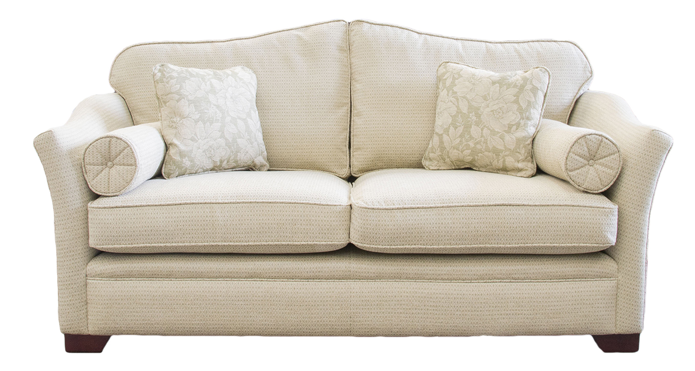 Othello Sofa Bed 4ft6 in silver Collection Fabric