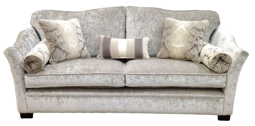 Othello Large Sofa  in Platinum Collection Fabric