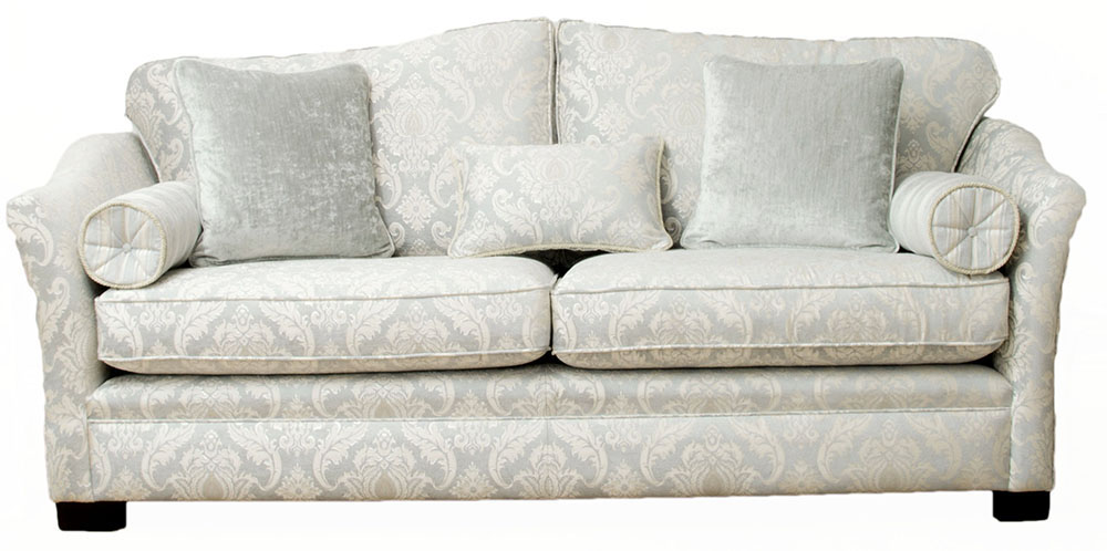 Othello Large Sofa  Tolstoy Pattern  Platinum Collection Fabric
