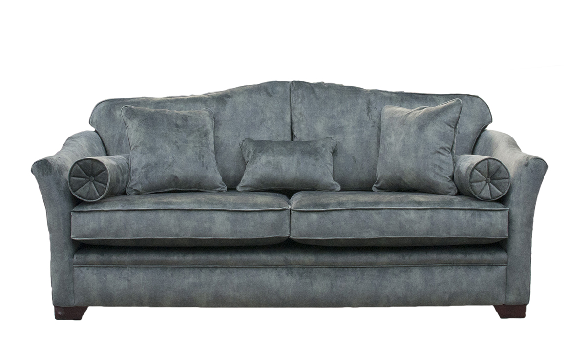 Othello 3 Seater Sofa in Lovely Jade, Gold Collection Fabric