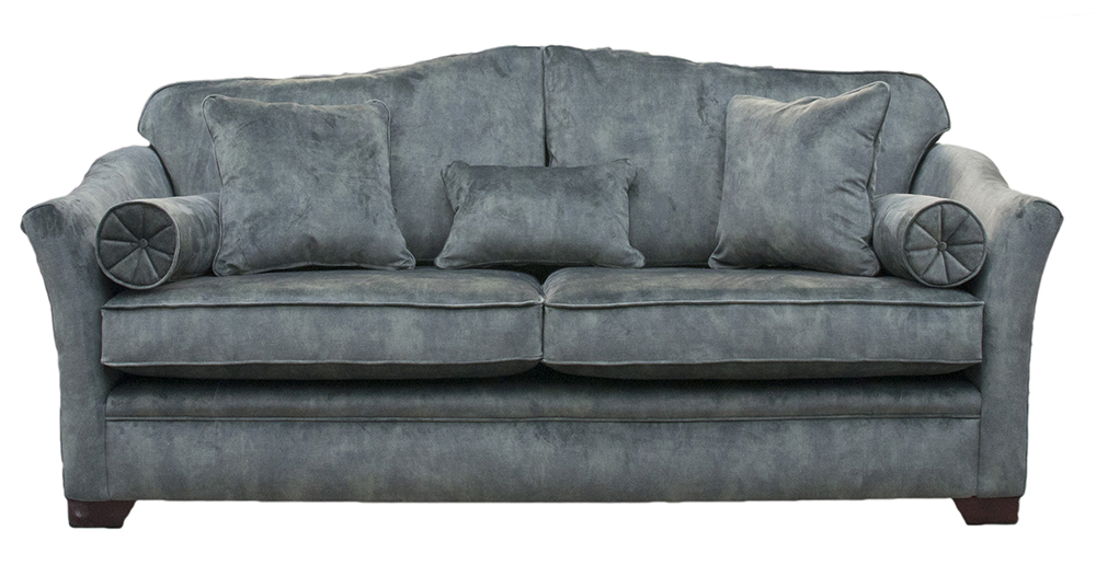 Othello Large Sofa  in Lovely Jade Gold Collection