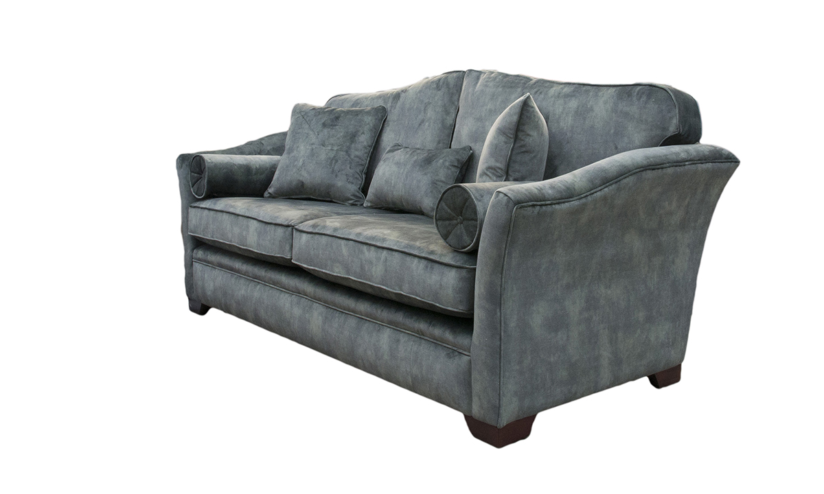 Othello Large Sofa in  Lovely Jade, Gold Collection Fabric