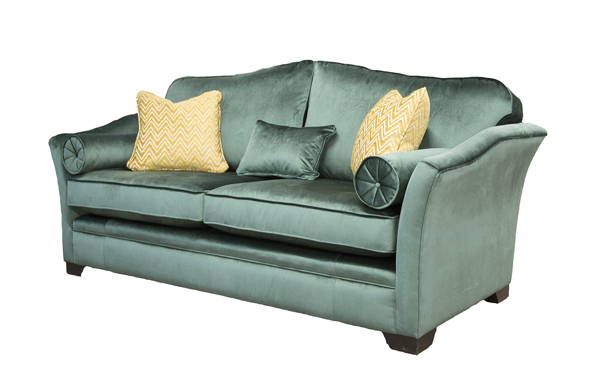 Othello-Large-Sofa-Side-in-Erasmus-Lincoln-Green-Gold-Collection-Fabric