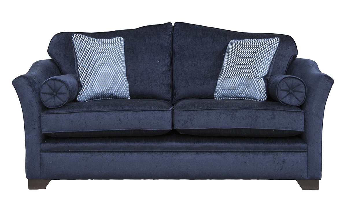 Othello Large Sofa in Edinburgh Carbon, Silver Collection Fabric
