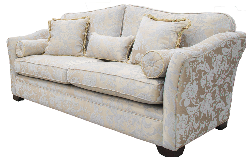 Othello Large Sofa  Silver Collection Fabric
